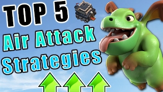 "TOP 5 ""2017"" TH9 AIR ATTACK STRATEGIES FOR 3 STAR IN WAR 