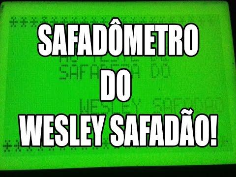 Safadômetro no Arduino - Algoritmo do Wesley Safadão
