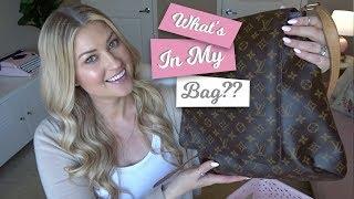 WHAT'S IN MY BAG! LOUIS VUITTON MESSENGER BAG - WIMB LV