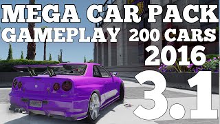 Gta V Mega Realistic Car Pack 3 1 Oiv File 300 Vehicles From Youtube