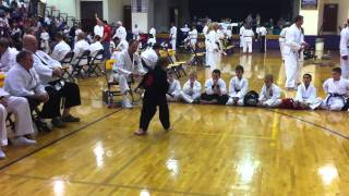 Shawn P. 1st place advanced Kata. AKJU Don Madden Ohio State Championship 2011