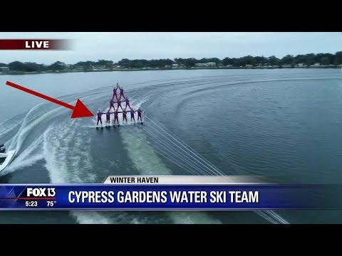 Chip Joins The Cypress Gardens Water Ski Team