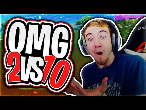 OMG 2 VS 10 HOW DID WE DO THIS?! *NEW TEAMS OF 20 On Fortnite Battle Royale*