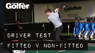 TaylorMade M4 and M3 Custom Fitted vs Off the Shelf Test