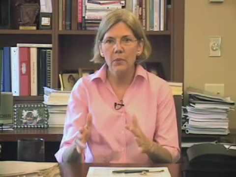 Professor Elizabeth Warren speaks about the Consumer Financial Protection Agency