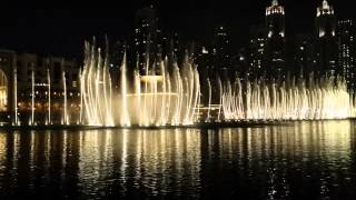 Dubai Fountain - O mio babbino caro