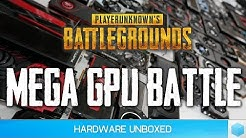 44 GPU PUBG 1.0 Benchmark, The Best Graphics Cards for Playing PlayerUnknown's Battlegrounds