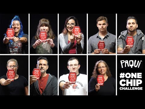 9 Brave Co-Workers Tackle the Paqui One Chip Challenge [CAROLINA REAPER]