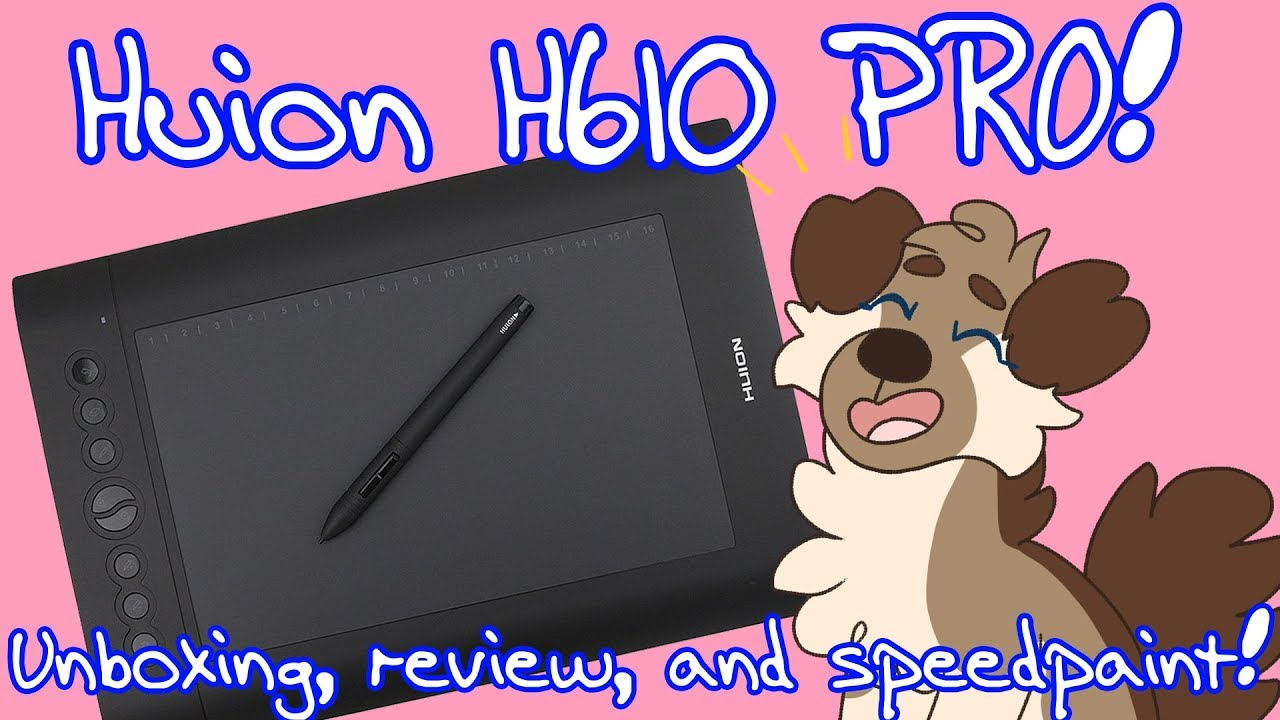 New Huion H610 PRO 8192 Graphics Tablet | Unboxing+Review+Speedpaint!