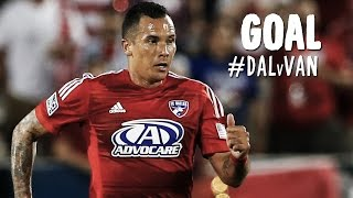 GOAL: Blas Perez wonder-strike from impossible angle | FC Dallas vs. Vancouver Whitecaps