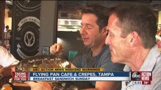 Abc Action News: Weekend Edition: Breakfast Sandwich Sunday Flying Pan