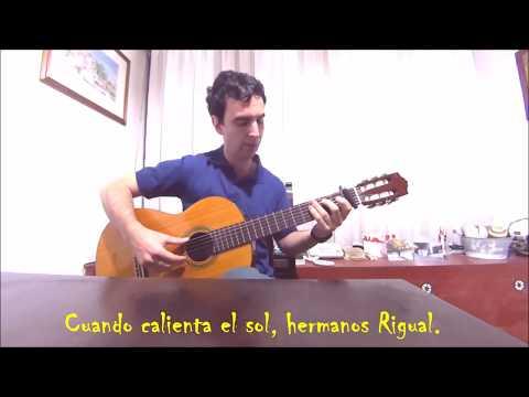 Cuando Calienta el Sol Luis Miguel cover guitarra fingerstyle