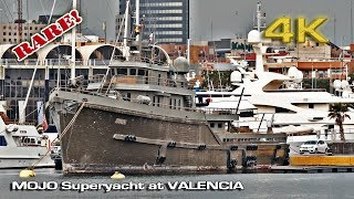 Mojo, Rare SuperYacht at Valencia [4K]