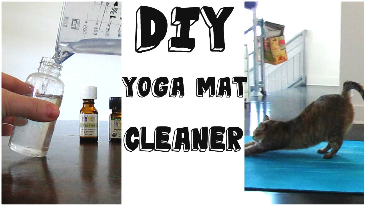 yoga mat cleaner diy exercise cleaning spray recipe youtube. Black Bedroom Furniture Sets. Home Design Ideas