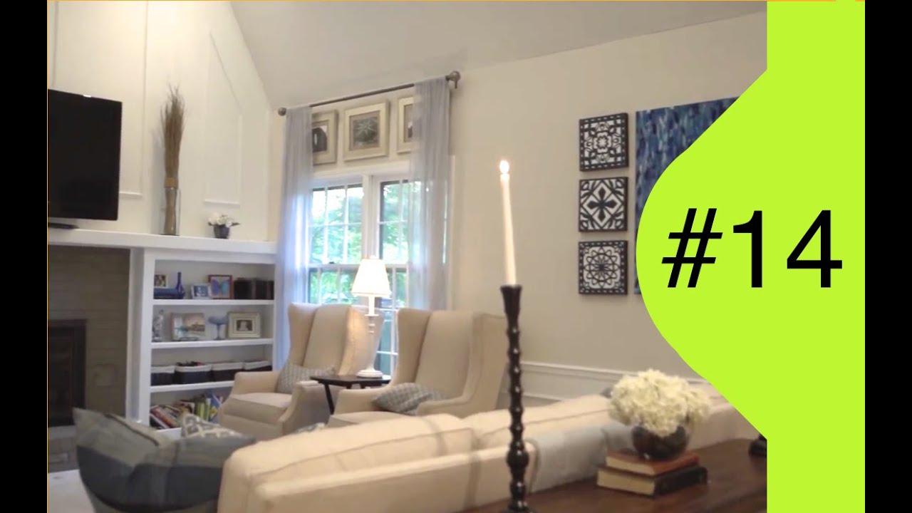 Interior Design | Family Room Makeover | #14 Reality Show ...