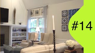 Interior Design - Family Room Makeover #14 Reality Show