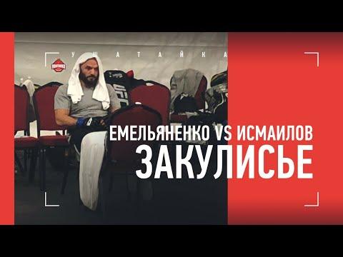 Исмаилов vs Емельяненко: что творилось за октагоном