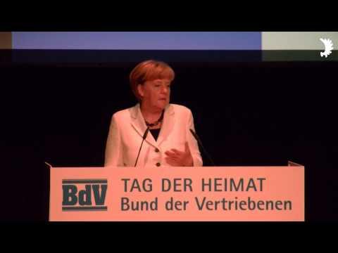 """Bundeskanzlerin Angela Merkel: Festrede beim Tag der Heimat 2014 - """"Deutschland geht nicht ohne uns"""""""