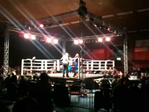 Robbie Timmers vs Chris Brouwer Noordwijk Kickboxg...