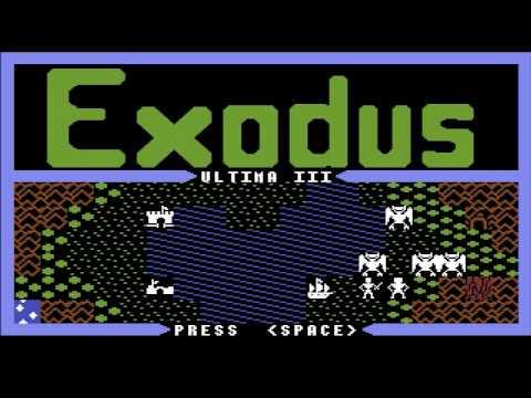 Ultima III: Exodus (Commodore 64 intro)