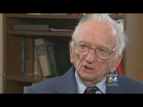 At 97, Fmr. Nuremberg Prosecutor Continues 'Law Not War' Mission