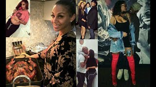 Thanksgiving At Neyo & His Wife Crystal Smith Home Ft. Comedian Micheal Blackson...