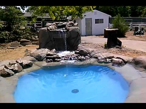 Diy Inground Pool >> How To Create Custom Gunite Wading Pool (3ft Deep) - YouTube