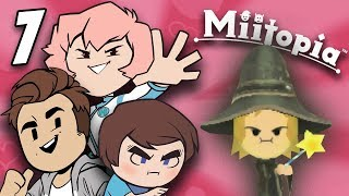 Miitopia: Wicked Witch of The Pigeons - PART 7 - Grumpcade (ft. Jimmy Whetzel & Commander Holly)
