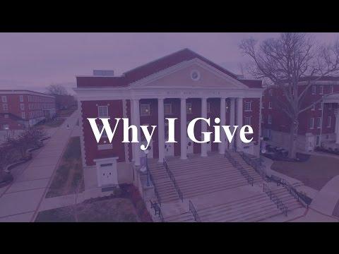 Why I Give - Asbury University