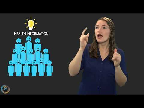 Deaf Health Communication: Seek, Share And Connect
