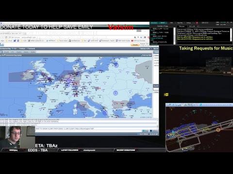 Vatsim ATC FSX - Aerosoft a320 - LIVE STEAM -4 Flights