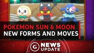 Pokémon Sun & Moon Has New Forms and Crazy Moves for Classic Pokemon - GS News Update