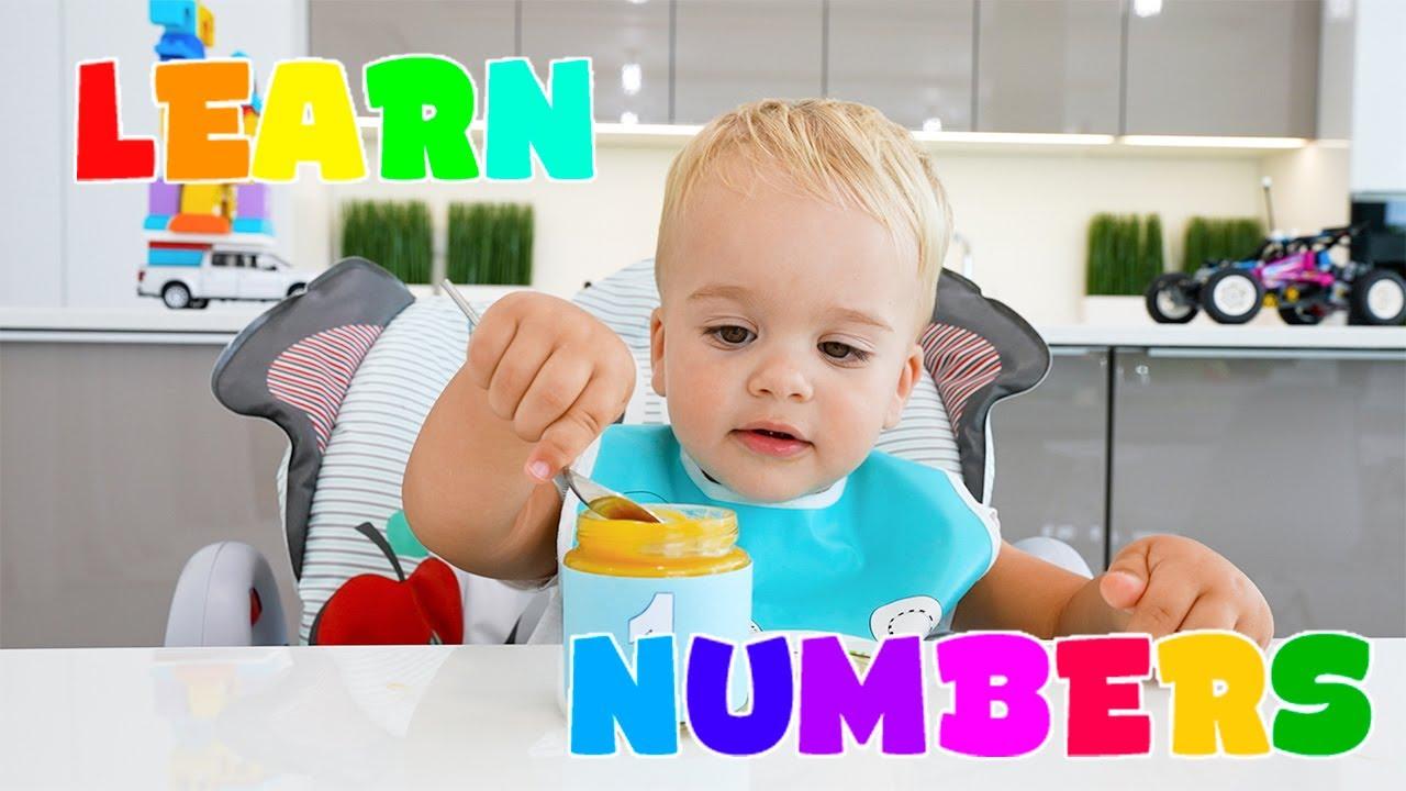 Học số 1-10 với Vlad & Niki và bé Chris