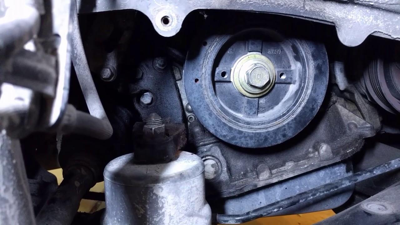 How to remove a stuck harmonic balancer bolt  YouTube
