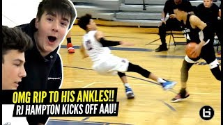 This Ankle Breaker HURTS TO WATCH!!! RJ Hampton SNATCHES Defender's SOUL From His Body!!