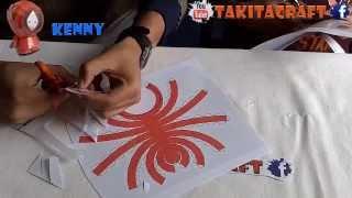 SOUTH PARK  PAPERCRAFT  (KENNY) PLANTILLAS