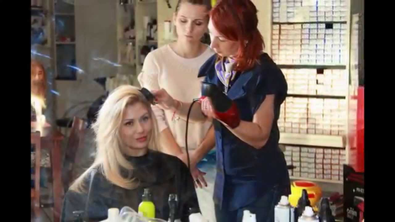 Как объемно уложить волосы