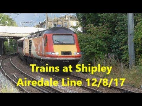 Trains at Shipley 12/8/17