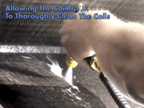 HVAC Maintenance and Coil Cleaning With The Coil Pro Jr
