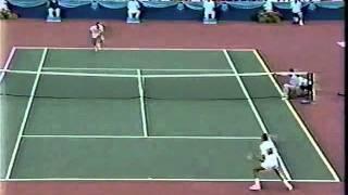 Ivan Lendl vs McEnroe Final - Canadian Open 1989 - 03/07
