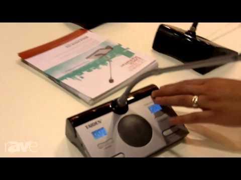 InfoComm 2013: Media Vision USA Shows its Digital Infrared Wireless Delegate Unit