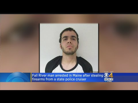 Fall River Man Charged With Stealing Guns From Maine State Police Cruiser