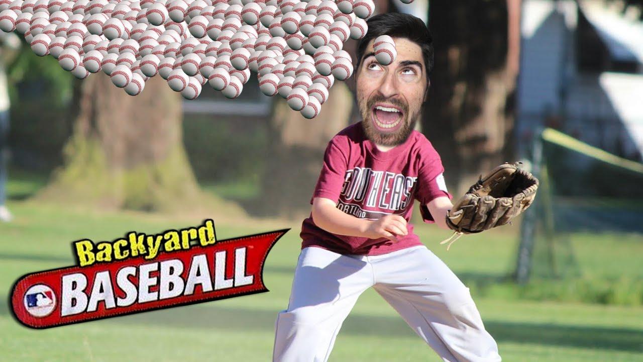 the worst game ever backyard baseball funny moments youtube
