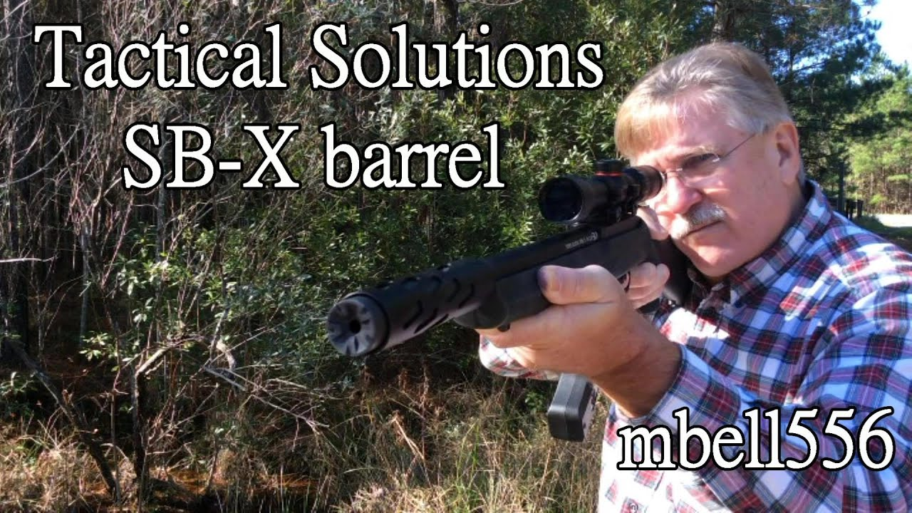 Tactical Solutions SB-X Barrel for the Ruger 10/22