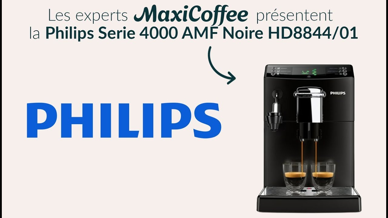 philips serie 4000 machine caf automatique le test maxicoffee youtube. Black Bedroom Furniture Sets. Home Design Ideas