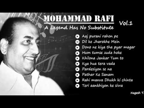 Old Hindi Instrumental Songs Best Of  Mohammad Rafi Super hit Bollywood Collections   Vol 1