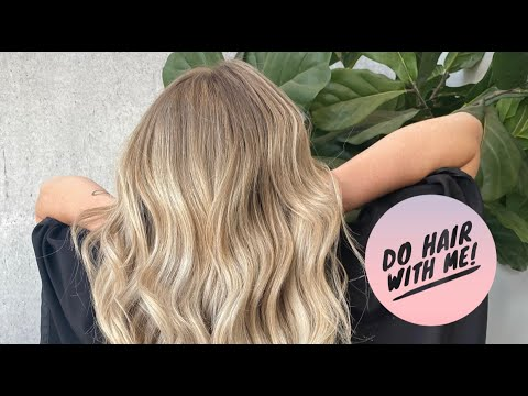 DO HAIR WITH ME! SALON DAY VLOG
