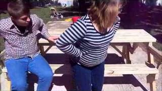 folding picnic table my first attempt at building this table from a ...