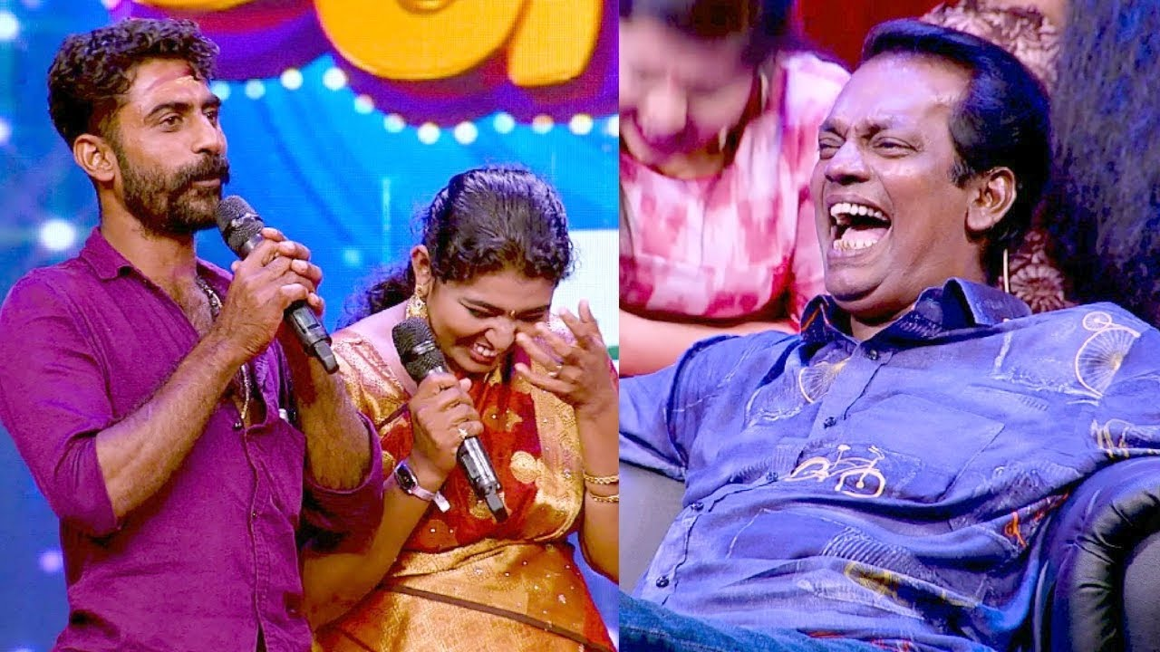 Thakarppan Comedy l A Mahout with his wife l Mazhavil Manorama