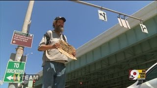 Where do panhandlers spend donated money?